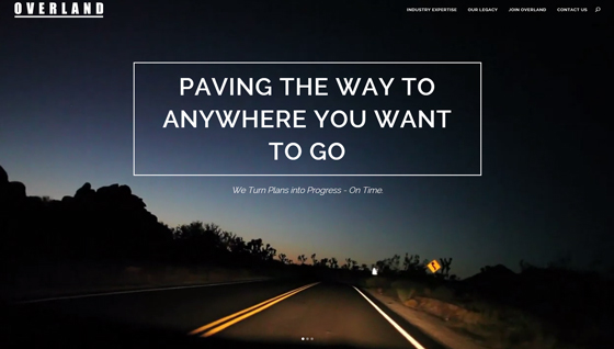 Overland - Paving the Way to Anywhere You Want to Go
